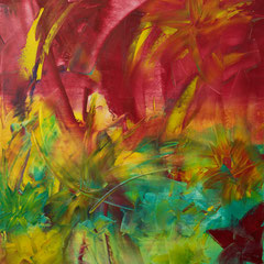 Butterflies - oil on canvas - 2004 - 60 x 40 - EUR 600