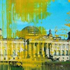 Berlin - Öl auf Fotopapier - 20 x 15 - EUR 270
