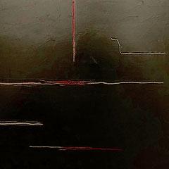 Rut un Wieß - oil and acylic on canvas - 2017 - 40 x 80 - EUR 400