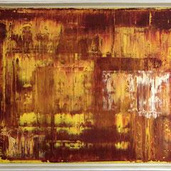 Studie in Rot - Öl auf Leinwand gerahmt - 100 x 130 - EUR 2.000
