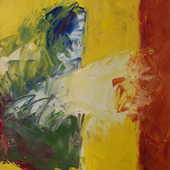 Morgengrauen - Öl auf Leinwand - 80 x 40 - EUR 350