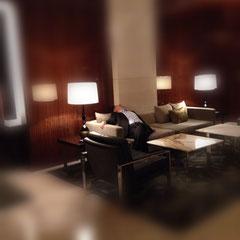 sleeping man - 2014