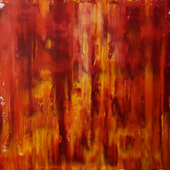 Study in red - oil on canvas - 50 x 50 - EUR 250