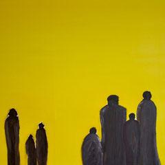 Waiting - oil on canvas - framed - 40 x 60 - EUR 1.200