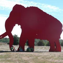 Großes Mammut, kleine Gang