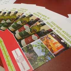 Informationen rund um unsere Weine  und unser Haus werden von den Besuchern interessiert mitegenommen.