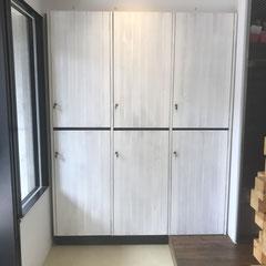 オーダー店舗用ロッカー・別注家具作成・神戸市