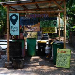 Centre de compostage du Huerto Roma Verde