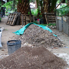 Atelier de composte du Huerto Roma Verde