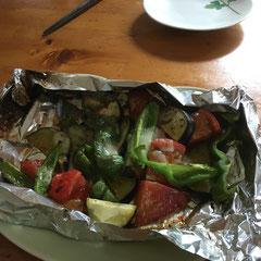 grilled summer vegetables/夏野菜のグリル焼き