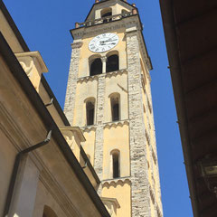 Domaso (CO) - Campanile della Chiesa di S. Bartolomeo
