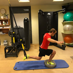 Training mit TRX nach VKB Verletzung