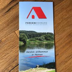 Flyer Ferienwohnung in Heinsen