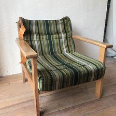 肘掛椅子張替え修理前・尼崎市