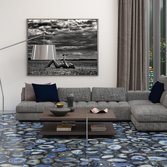 APAVISA AGATA BLUE #apavisa #tiles #stone #naturalstone #inspiration #interiordesign #floortiles #architecture #fliesen #fliesendesign #bodenfliesen #dahofawoas #emanuelhofer
