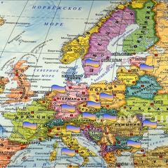 Карта Європи