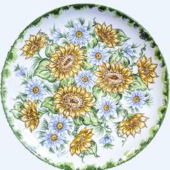 piatti da muro in ceramica abruzzese