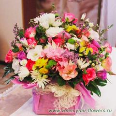 цветочные композиции казанская