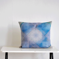 Cushion, Digital print on organic cotton