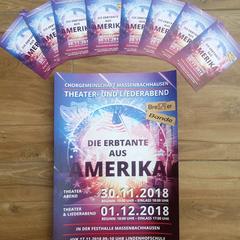 Flyer Theatergruppe Massenbachhausen Bretter Bande