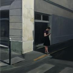 Passage croisé 2019 Huile sur toile 61 x 51 cm Collection privée