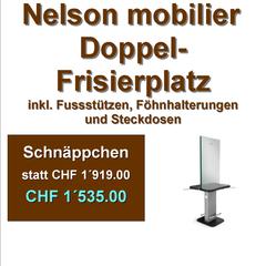 Nelson mobilier Doppel-Frisierplatz