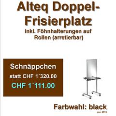Alteq Doppel-Frisierplatz