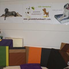orthopädische Hundebetten Kollektion Lectus pro canibus® aus dem Hause Gesunde Hundewelt bei der IHA Tulln 2013