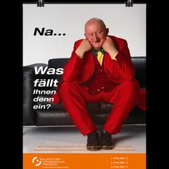 Plakatentwurf für BVW-Aktion