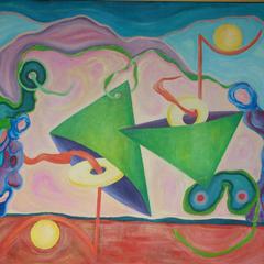 Gerhard Haug // Phase der leuchtenden Farben