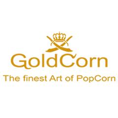 Logo der Popcornmanufaktur GoldCorn