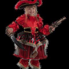 1700 руб. Пиратка красная  арт 455