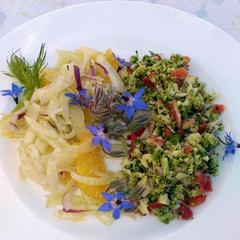 Tagliatelle mit frischem Gemüse der Saison
