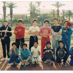 ezzahra sport tennis club année 80