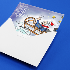 Weihnachtskarten für SrockIT