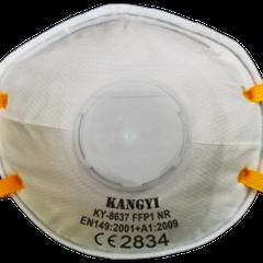 Model KY-8637 CE EN149:2001 Class FFP1 NR with Exhalation Valve