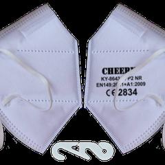 Model KY-8643 CE EN149:2001 Class FFP2 NR with Exhalation Valve
