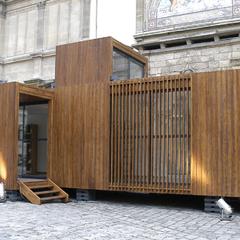Casas construidas con estructura containers p gina web for U shaped container home
