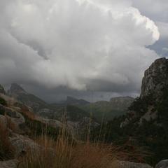 Mallorca, patschnass