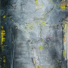 Yuti, Acryl auf Leinwand, 40x80cm, 2014