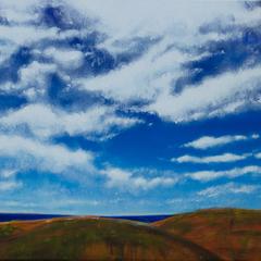 Australien Coast, Acryl auf Leinwand, 50x50cm, 2014