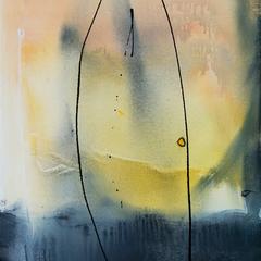 Pfeilspitze, Acryl auf Leinwand, 60x80cm, 2014