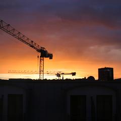 Sonnenuntergang, Oslo