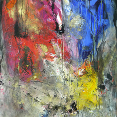 42, Acryl auf Leinwand, 80x100cm, 2012
