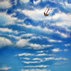 happy days 2, Acryl auf Leinwand, 50x60cm, 2014