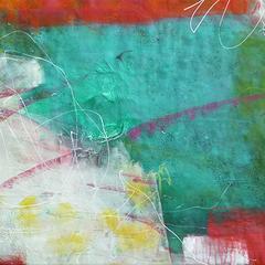 Dschungel II, Acryl auf Leinwand, 155x70cm, 2014