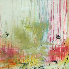 Die Quelle des Glücks, Acryl auf Leinwand, 100x80cm, 2012