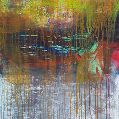 Sommernachtskonzert, Acryl auf Leinwand, 80x100cm, 2014