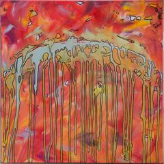 try again, 60x60cm, Acryl auf Leinwand, 2013