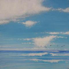 offline, Acryl auf Leinwand, 60x60cm, 2014